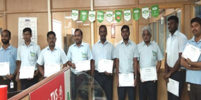 Recognition for Launch of Ceiling Fan